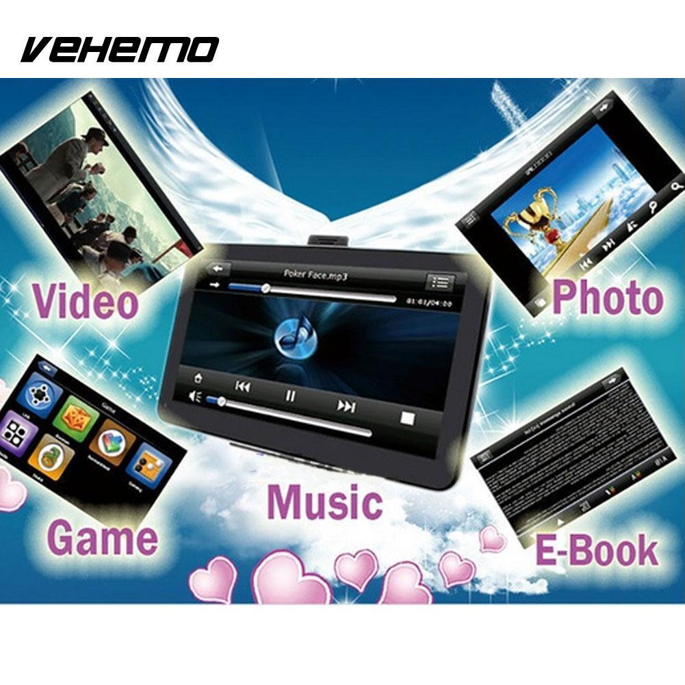 Vehemo 4GB Motor Car GPS Navigator MP3 Player MP4 Player Smart Navigation Player Stereo