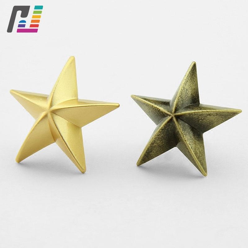 3D Star Lapel Pin Star Pin Badge Men Brooch Pins Custom Metal Lapel Pins Badge Buy at Least 50PCS