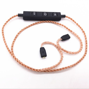 Image 5 - MMCXชุดหูฟังบลูทูธAdaterสำหรับShure SE215 SE535 SE846 UE900 Tf10 TF15 Sennheise Ie80 Ie8 28 Core Pureทองแดงลวด