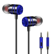 ФОТО 1 pc earphones headset with built-in microphone 3.5mm in-ear wired earphone for smartphones for mobile phone mp3 mp4 xiaomi 04