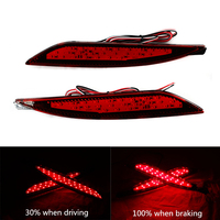 Rear Bumper Reflector Lights Super Bright Led Automobile Brake Light Tail Light For Hyundai Sonata 8th