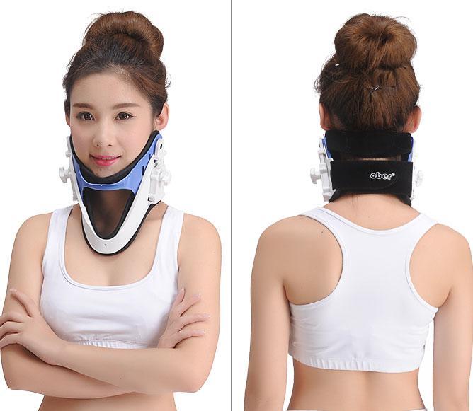 ФОТО Cervical spine massager neck clip neck cervical neck neck guard family massage pillow body massager