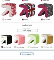 Home Bar Stools Change Shoes Tea Stool Green Black Pink Gold Color Funiture Market Retail And
