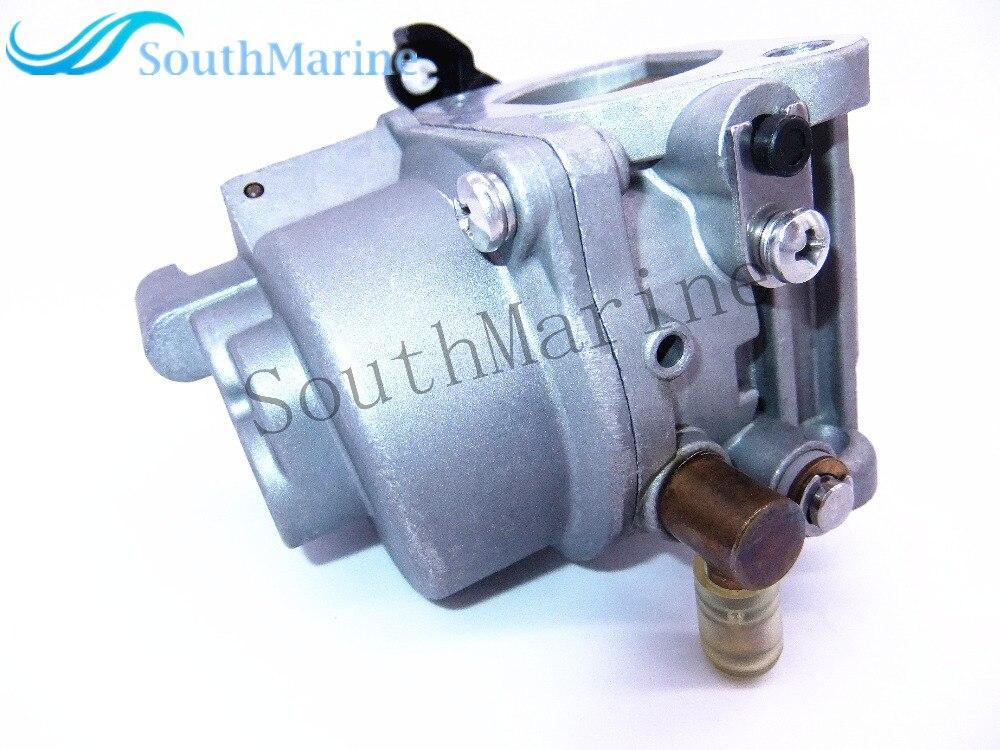 Outboard Motors Carburetor Assy 68T-14301-11-00 for Yamaha 4-stroke 8hp 9.9hp F8M F9.9M , Free Shipping 66m 14301 11 66m 14301 00 carburetor assy for yamaha 4 stroke 15hp f15 outboard motors