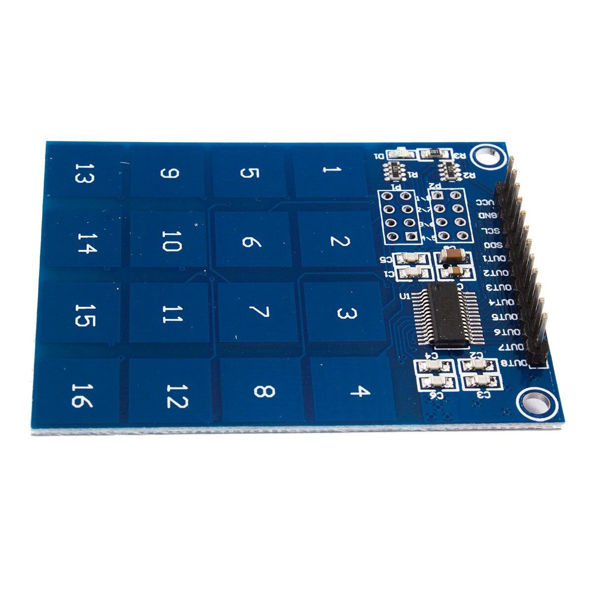 Ttp229 16 Way Capacitive Touch Switch Digital Touch Sensor Modulein