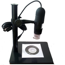 Discount! 10x – 220x LED Light USB Digital Microscope Electronic Magnifier LED Magnifying Glasses Desk Loupe with LED 5MP Black