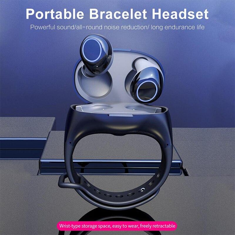 2 en 1 reloj inteligente inalámbrico auriculares Combo, deporte para auriculares estéreo Bluetooth con micrófono para samsung huawei xiaomi Protector Huawei P8 Lite 2017 Dorado Completo 3D Cristal Templado de Pantalla