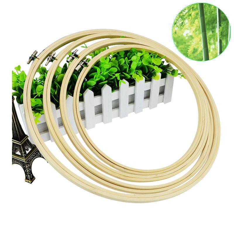 Praktische 13 27 cm Kreuzstich Maschine Bambus Rahmen Stickrahmen ...