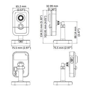 Image 2 - Hikvision DS 2CD2443G0 IW Wi Fi מצלמה מעקב וידאו 4MP IR קבוע קוביית IP אלחוטי מצלמה דו כיוונית אודיו H.265 +