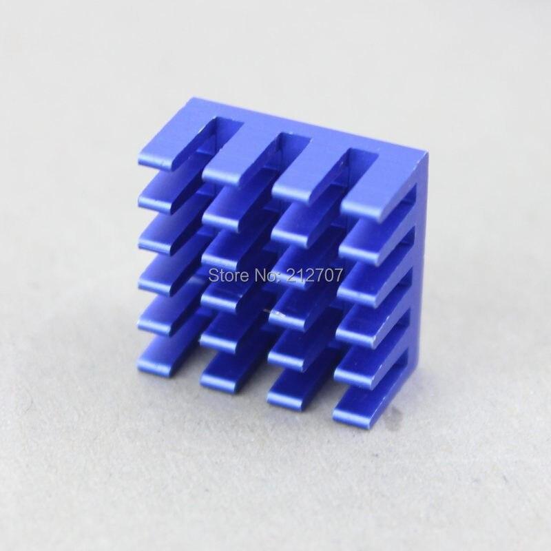 80 шт. Gdstime синий IC светодиодный vga-карта DDR для Xbox360 теплоотвод охлаждающий кулер радиаторы 15*15*8 мм