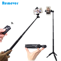 3 In 1 Mini Selfie Stick With Tripod Ball Head For Gopro Bluetooth Remote Extendable Monopod