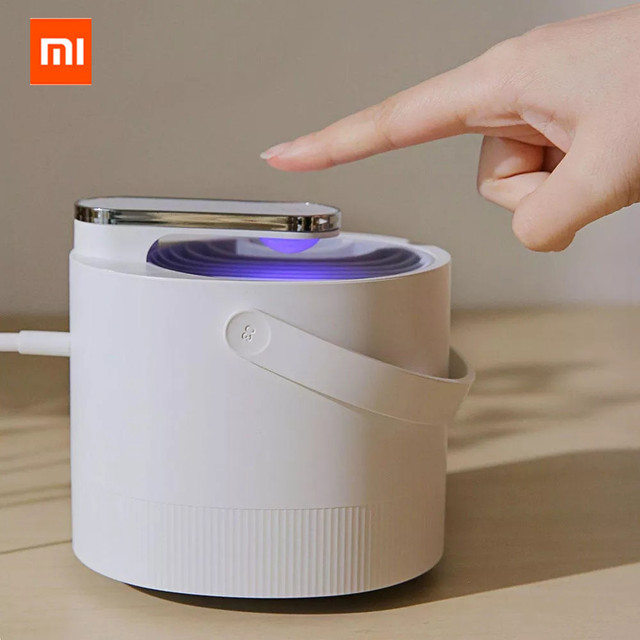 Original Xiaomi Mijia Mosquito Killer Lamp USB Electric Photocatalyst Mosquito Repellent Insect Killer Lamp Trap UV smart Light