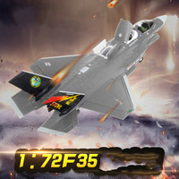 1:72 F35 Alloy Aircraft Model Simulation Fighter Model Diecast Carrier Aircraft Military Ornaments Finished Airplane Model F 35B