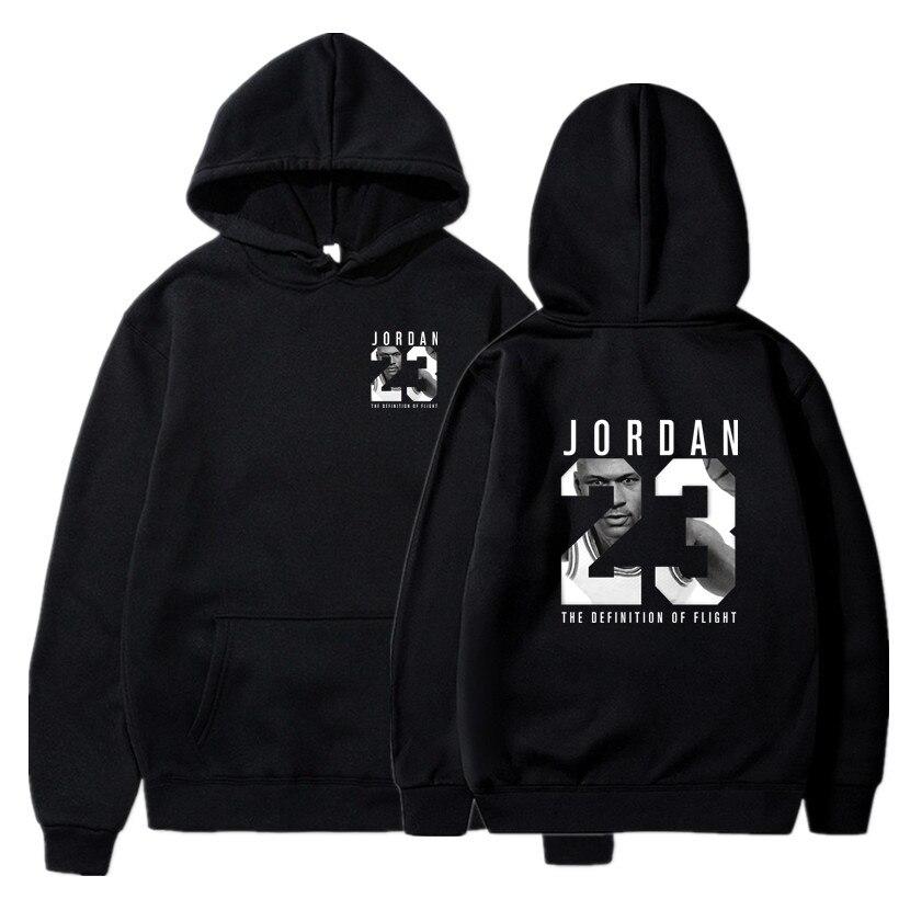 2019 New Brand JORDAN 23 Letter Print Sweatshirt Men Hoodies Fashion Solid Hoody Men Pullover Mens Tracksuits Male Coat S-XXXL