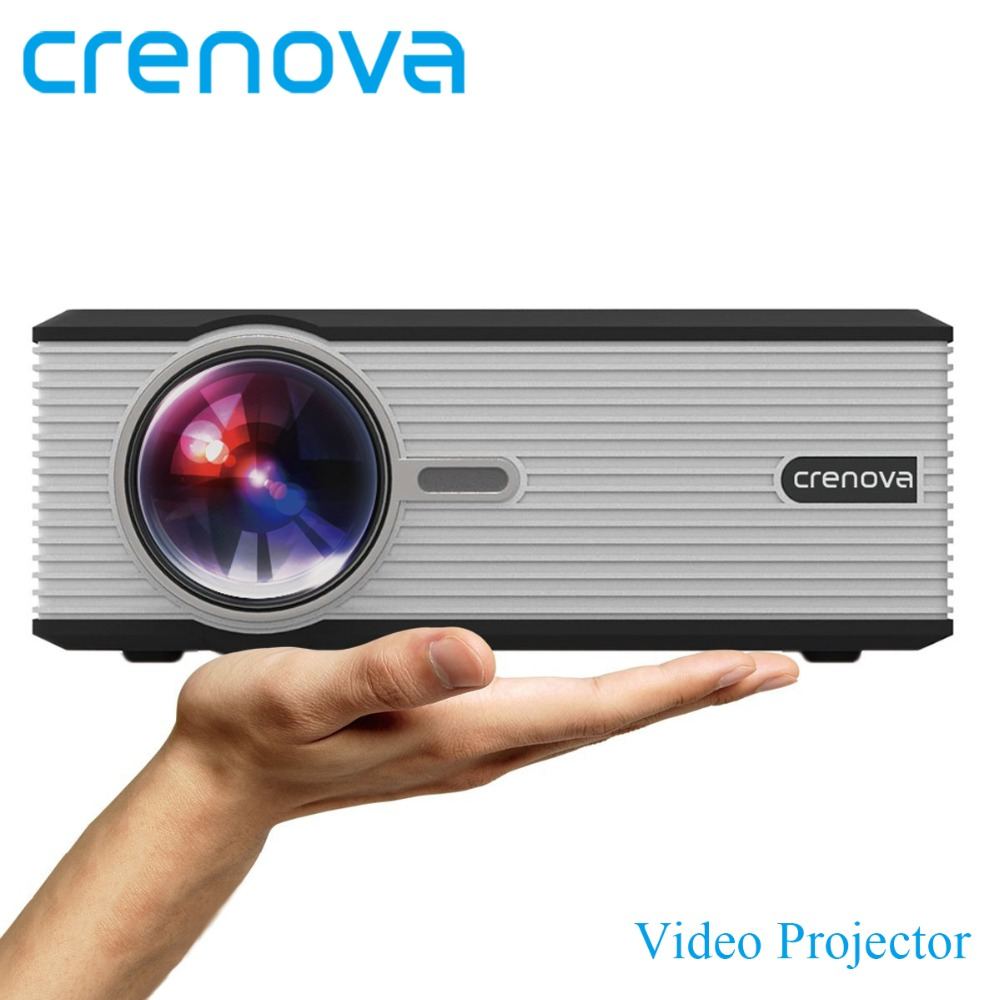 CRENOVA Video Projector For Home Theater Movie Proyector With HDMI USB VGA AV For Full HD