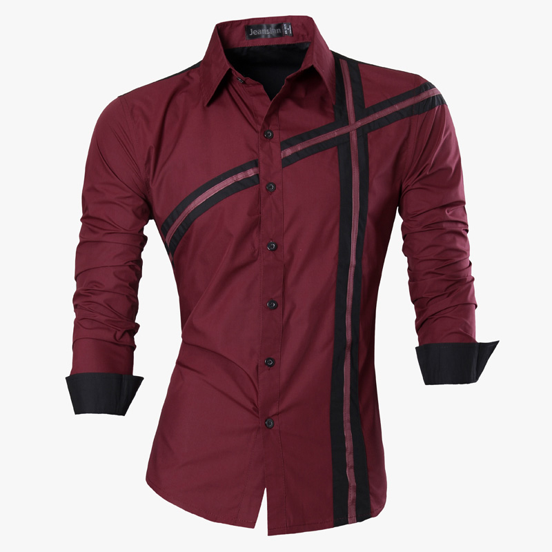 2019 Primavera Otoño Características Camisas Hombres Camisa Casual - Ropa de hombre - foto 5