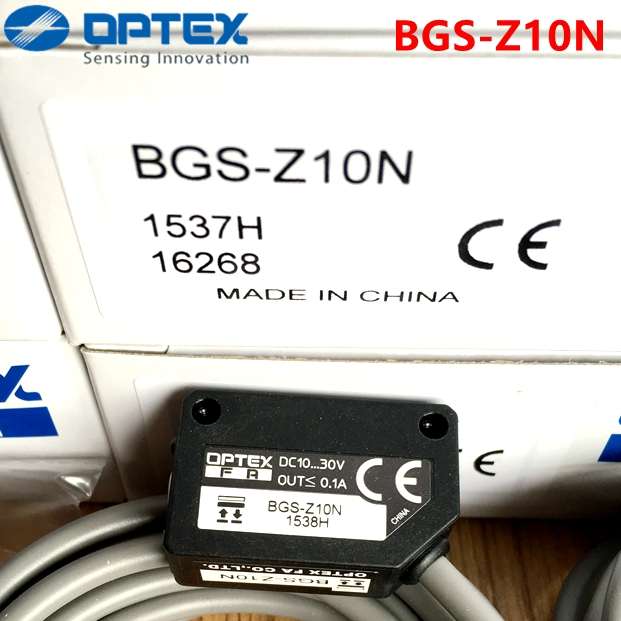 OPTEX Photoelectric Switch BGS-Z10N Brand new original OPTEX Photoelectric Switch BGS-Z10N Brand new original