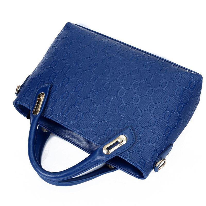Yeetn.H Women 4 Set Handbags Pu Leather Fashion Designer Handbag Shoulder Bag Black Vintage Female Messenger Bag Sac A Main M129