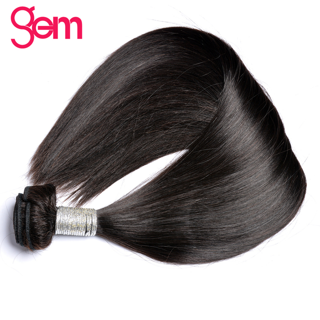 Aliexpress Buy Indian Remy Hair Straight Hair Extensions 1pcs