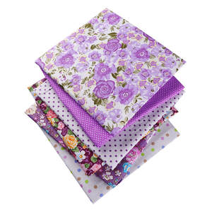 100% Cotton Flowers Fabric For Doll Patchwork Sewing