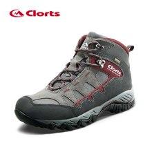 Clorts/мужские кроссовки; водонепроницаемая обувь; зимняя походная обувь; кожаные кроссовки; мужские походные ботинки; нескользящая Уличная обувь; HKM-823