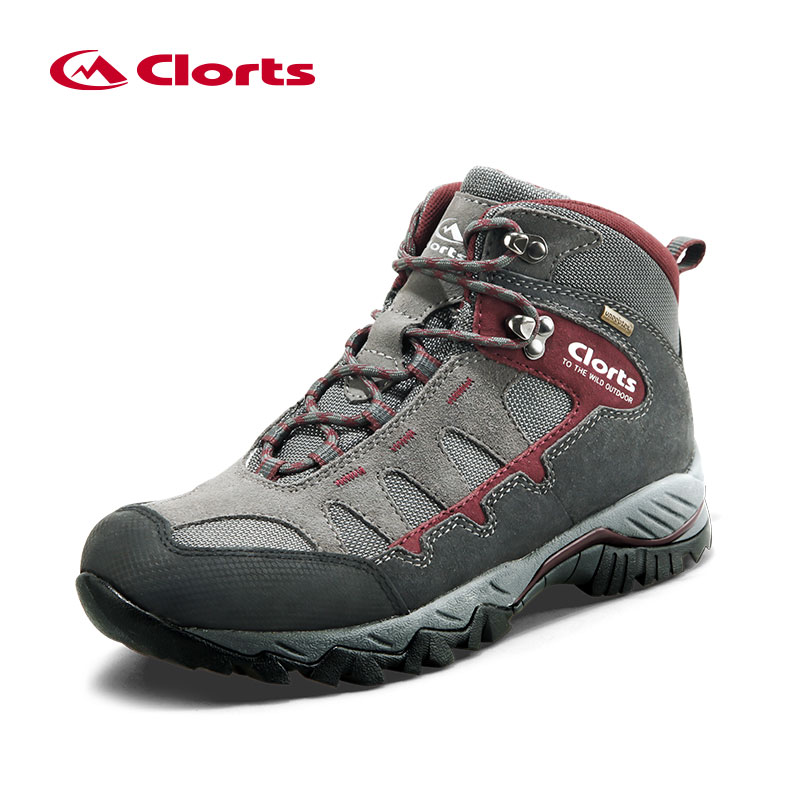 Clorts männer Sneakers Wasserdichte Schuhe Winter Wandern Schuhe Leder Turnschuhe Mann Wandern stiefel Anti-skid Outdoor Schuhe HKM-823