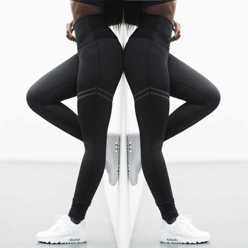 9f3314d92d4e7c Detail Feedback Questions about EOEODOIT Activewear High Waist Fitness  Leggings Women Pants Fashion Patchwork Workout Legging Stretch Slim  Sportswear ...