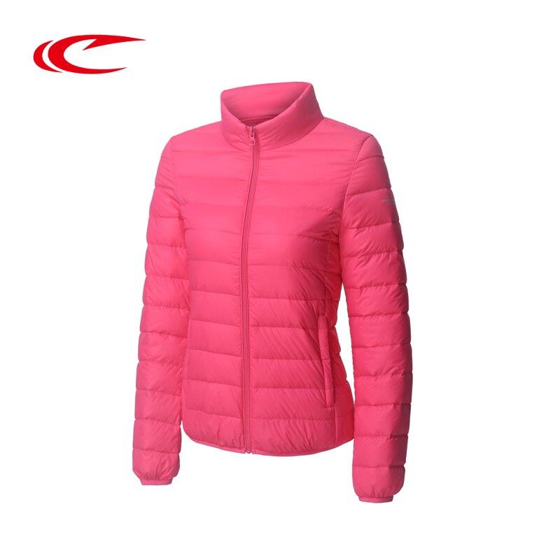 SAIQI Women Skiing Jacket Solid Outdoor Sport Wear Down Coat Autumn Winter Warm Clothes Brand Elastic Sport Wear Running Coats