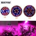 30W 50W 80W E27 AC85-265V reef Full Spectrum Led Grow Light Plant Grow Lamp Bulb IR UV 5730SMD Flower Growing Hydroponics System
