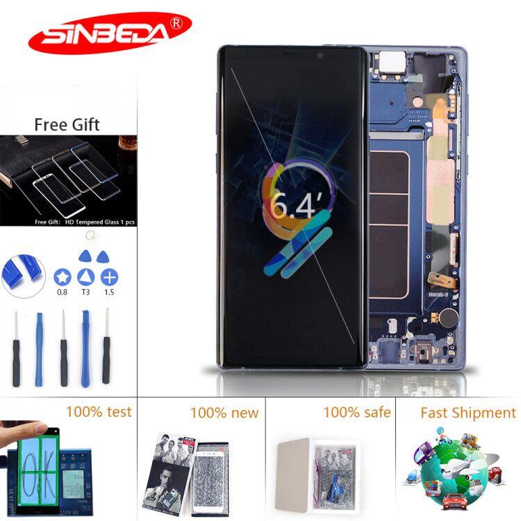 Super AMOLED pour Samsung Note 9 écran tactile écran tactile numériseur N960F pour Samsung Note 8 écran LCD
