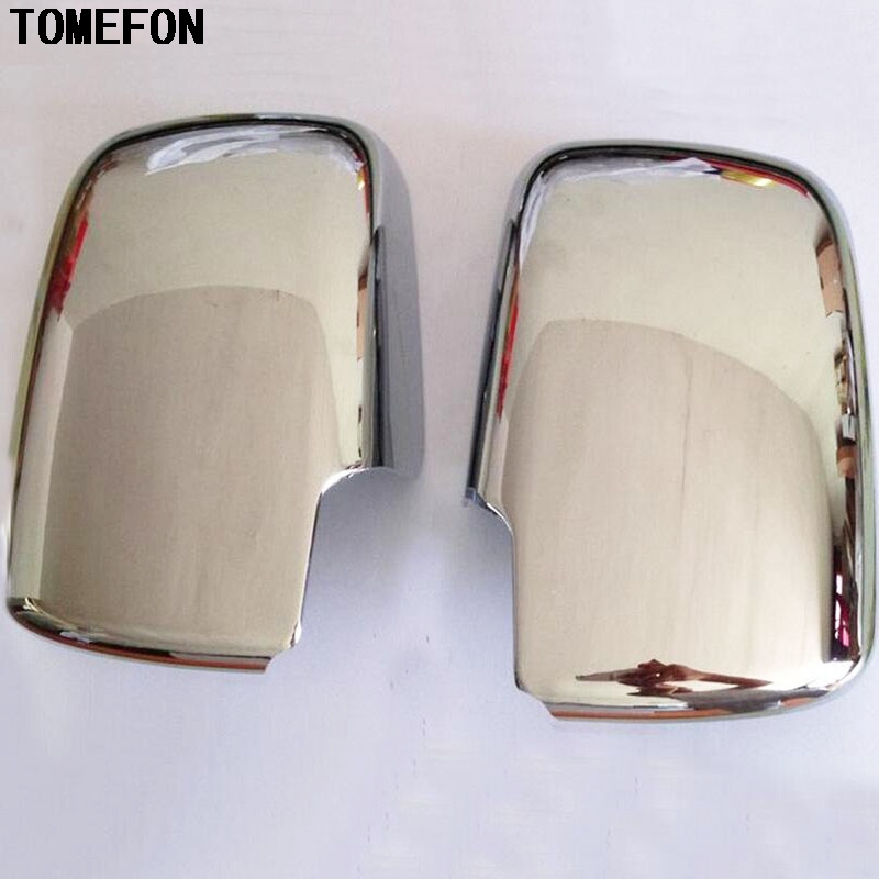 TOMEFON ABS Chrome porte latérale rétroviseur cadre de couverture pour Nissan Qashqai 2007 2008 2009 2010 2011 2012 2013 garnitures extérieures - 3