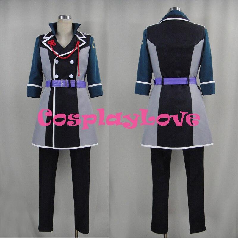 Custom Made Japanese Game Idolish 7 Tsunashi Ryunosuke Cosplay Costume Christmas Halloween High Quality CosplayLove