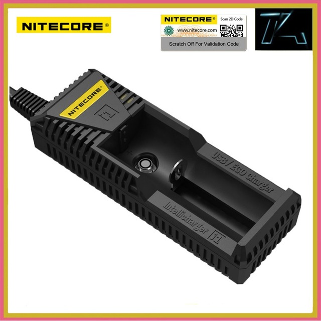 TK Nitecore i1 Fast Charger EGO Charging Port with USB Output for Electronic Cigarette E-cigarette Vapers 18650 Li-ion Batteries