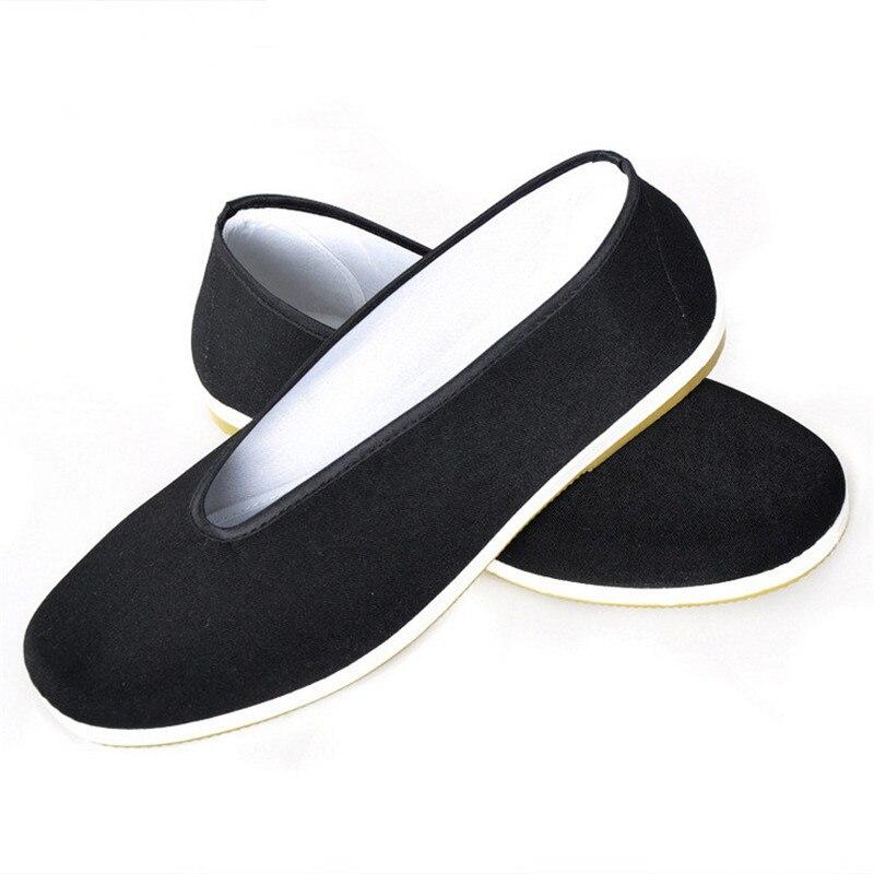 Envío gratis Chino tradicional artesanía retro zapatos cómodo inicio zapatos pla