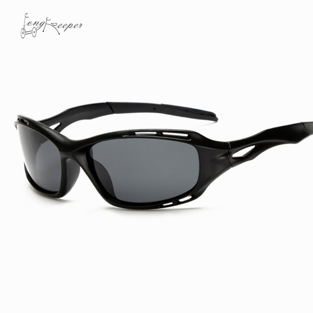 2155e0bcd0 LongKeeper Retro Cycling Sunglasses Mens Night Vision Polarized Sunglasses  Outdoor Biking Goggles Sports Eyewear Sun Glasses 104