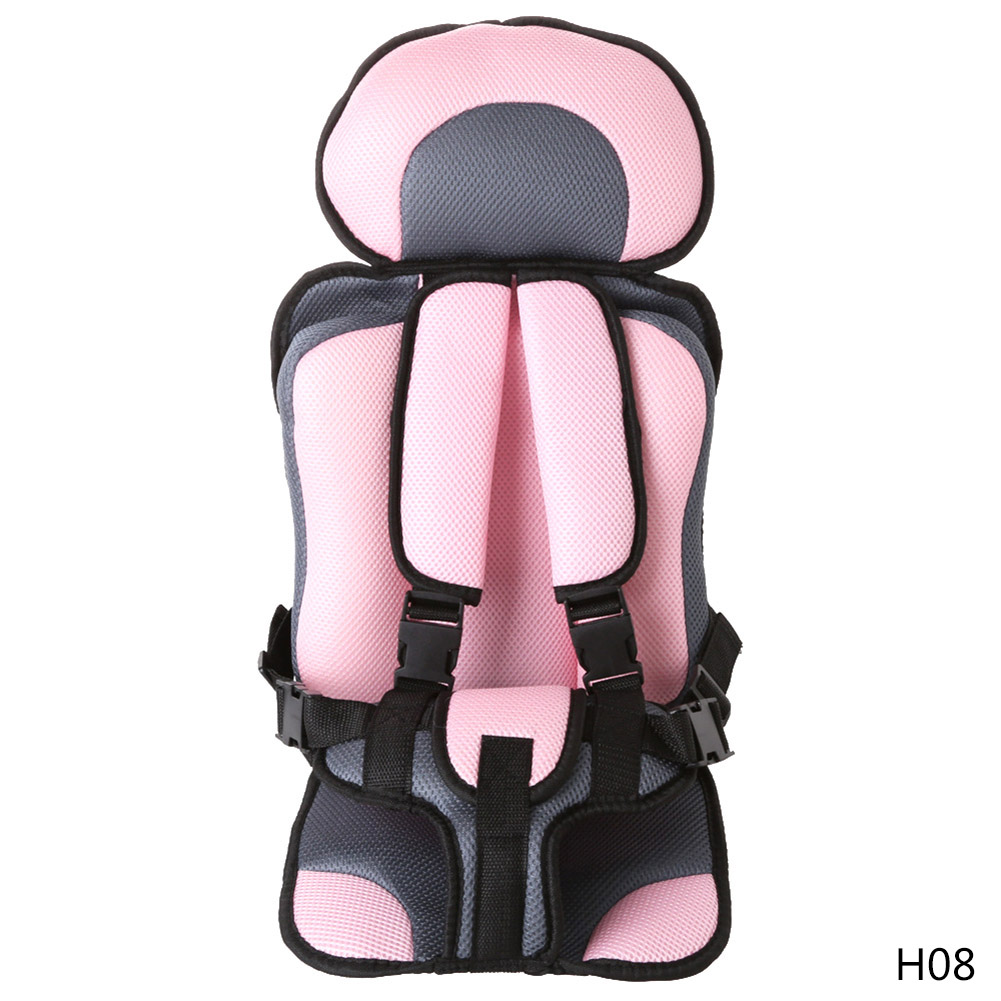 Baby Car Seat Infant Safe Seat Portable Childrens Chairs Updated Version Thickening Sponge Baby Increase Seat Practical