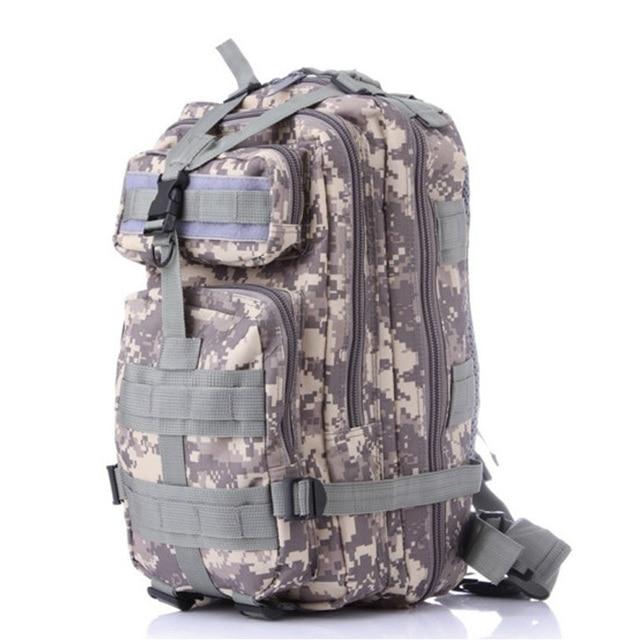 suutoop Men Women Military Army Backpack Trekking Camouflage rucksacks sac a dos casual ACU Green Black rugzak german french bag