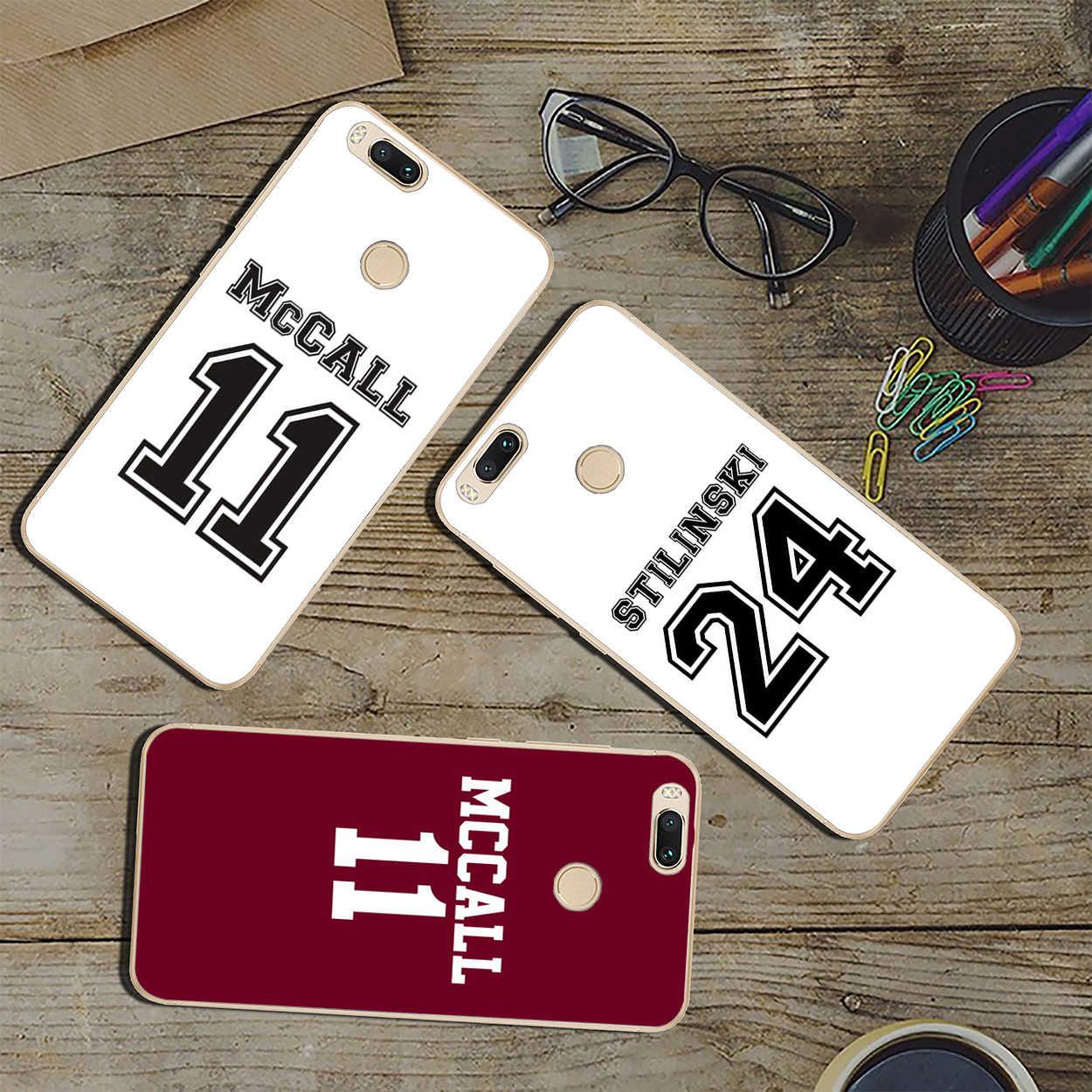 Classique Teen Wolf Scott Mengutip MC Call Phone Case untuk Xiao Mi Mi 10 9 9T CC9 CC9E A3 Pro 8 Se A2 Lite A1 Pocophone F1 6 Mi 10