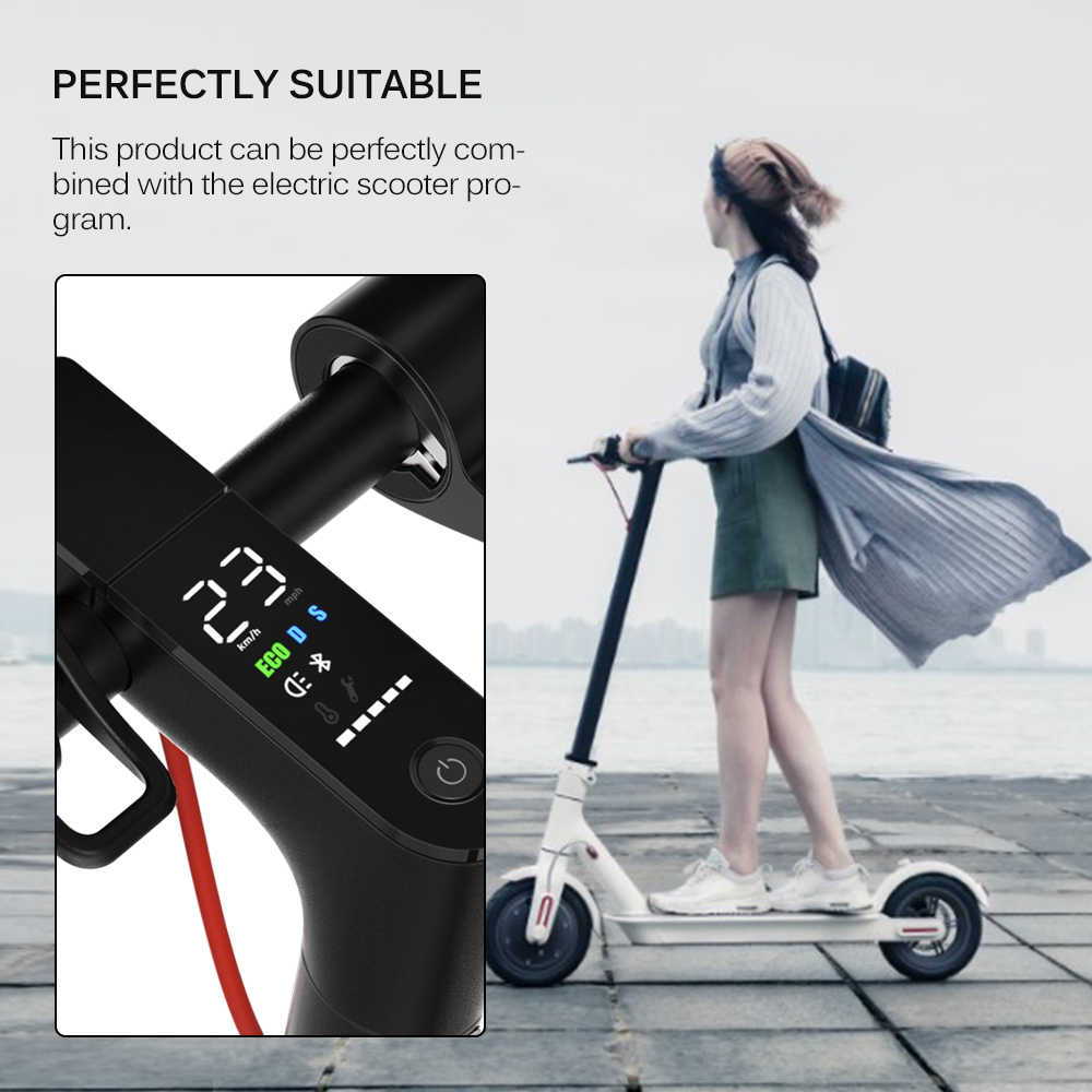 Electric Scooter Dashboard Cover Shell For Xiaomi Mijia M365 Convenient Durable