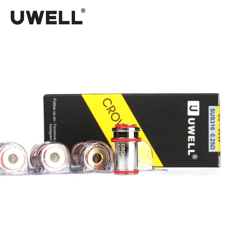 UWELL 4 पीसी / बॉक्स क्रॉवन 3 - इलेक्ट्रॉनिक सिगरेट