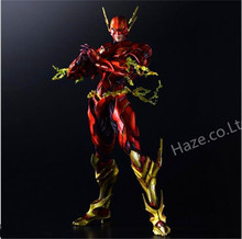 Play Arts Kai Variant Dc Comics The Flash Action Figure 10 PVC Toy