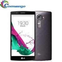 Oryginalny Odblokowany LG G4 H810 H815 Hexa H815T 3 GB RAM 32 GB ROM rdzeń 5.5 ''Telefon komórkowy Aparat 16.0MP 4G LTE LG G4 Mobilna telefon