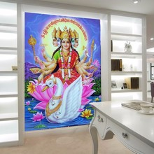 Beibehang Wallpaper For Walls 3d Southeast Asia Thailand And India Yoga  Hindu God Statues Buddha Photo Part 75