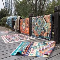 Pakistan Kilim Nation Wind Geometry Northern Europe Modern A Living Room Carpet Land Pad Tapestrygc193kilyg40