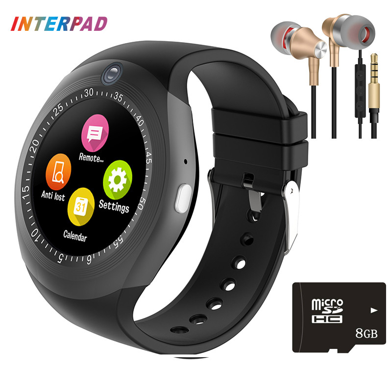 2017 Latest Interpad Android Smart Watch Bluetooth Phone Call Clock Passometer Push Message Smartwatch For Xiaomi