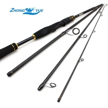 On sale Fishing Rod Spinning Casting Rod 99% Carbon Fiber Telescopic 2.1M lure 10-30g Power M Fishing Travel Rod Tackle peche