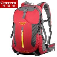 Creeper Nylon Free Shipping Professional Waterproof Rucksack Bear System Climbing Camping Hiking Backpack Mountaineering Bag 40L