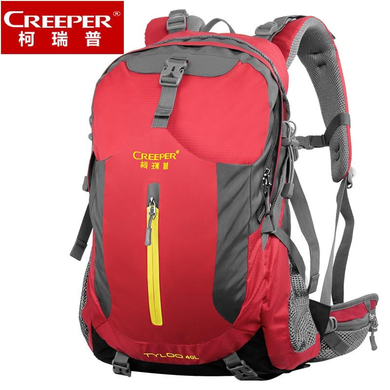 Creeper Nylon 무료 배송 전문 방수 배낭 곰 시스템 캠핑 하이킹 배낭 등산 가방 40L 등산