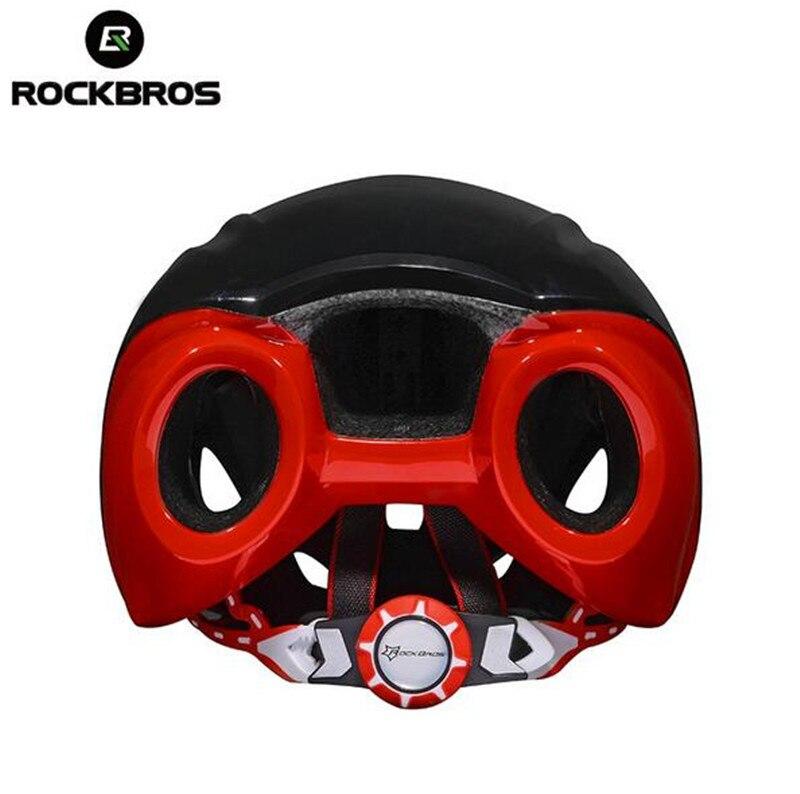RockBros Aero Cycling Helmet Road Bike Women Men Cycling Ridig Bicycle EPS Breathable Helmets (55-66mm) rockbros men