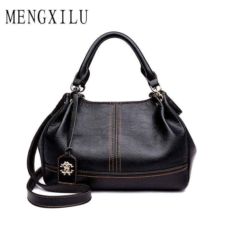 MENGXILU Fashion Women Bag Ladies Hand Bag  Shoulder Bags Designer Handbags High Quality Pu Leather Female Handbag Bolsas Sac